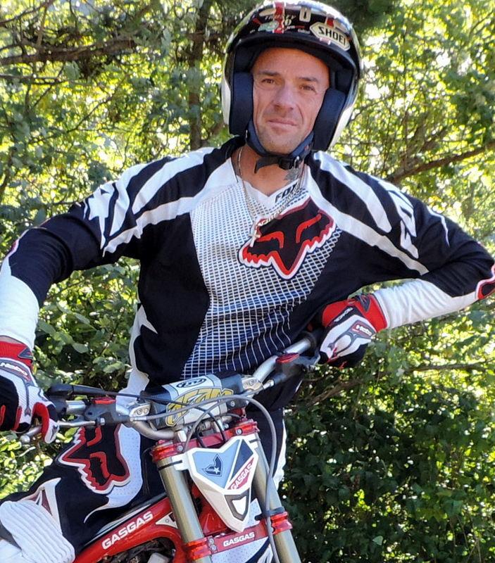 Patrice Thibault multi-champion de France de trial